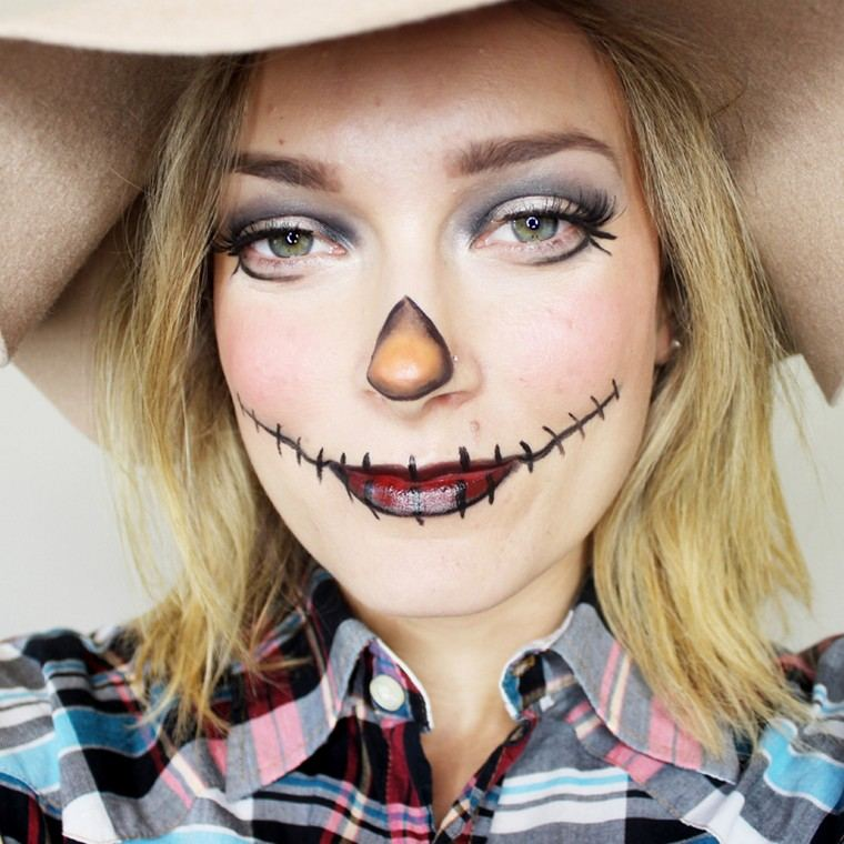 maquillage-dhalloween-idées-créatives