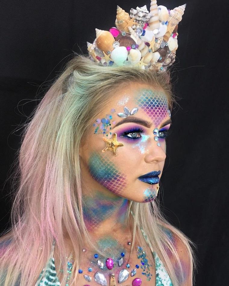 maquillage-dhalloween-idées-créature-beauté
