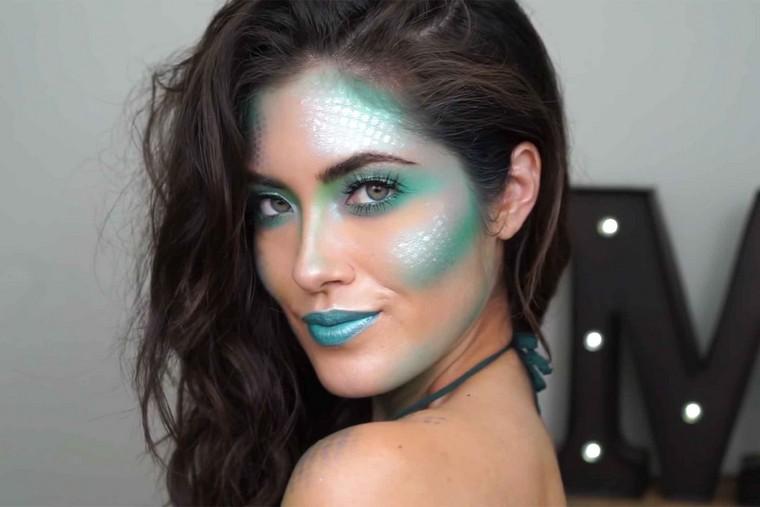maquillage-de-halloween-idees-sirene