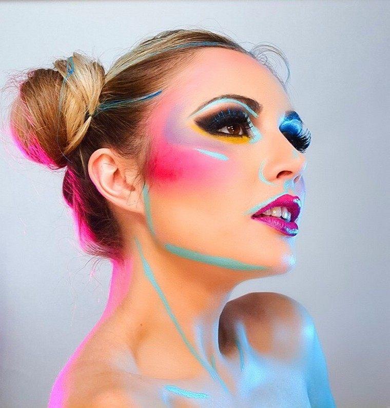 maquillage-de-halloween-creatif-jeux-idees-cheveux