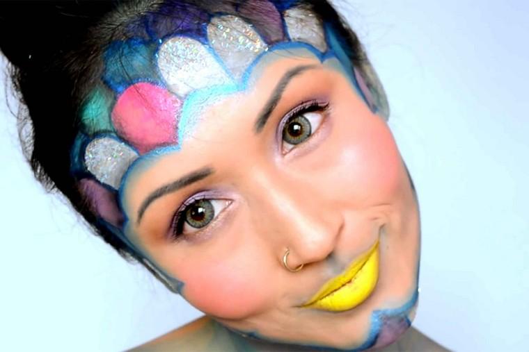 maquillage-de-halloween-créatrice-femme