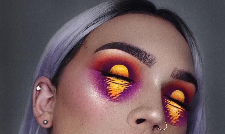 Halloween-plage-maquillage-original-options