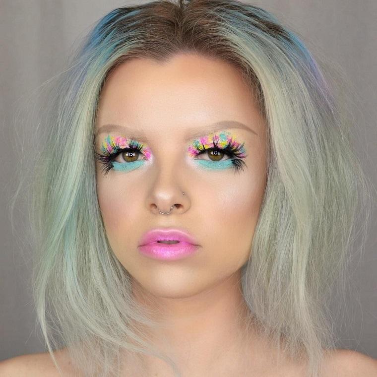 maquillage-yeux-idées-fête-halloween