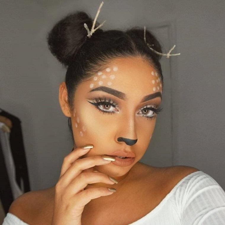 maquillage-halloween-animal-idées