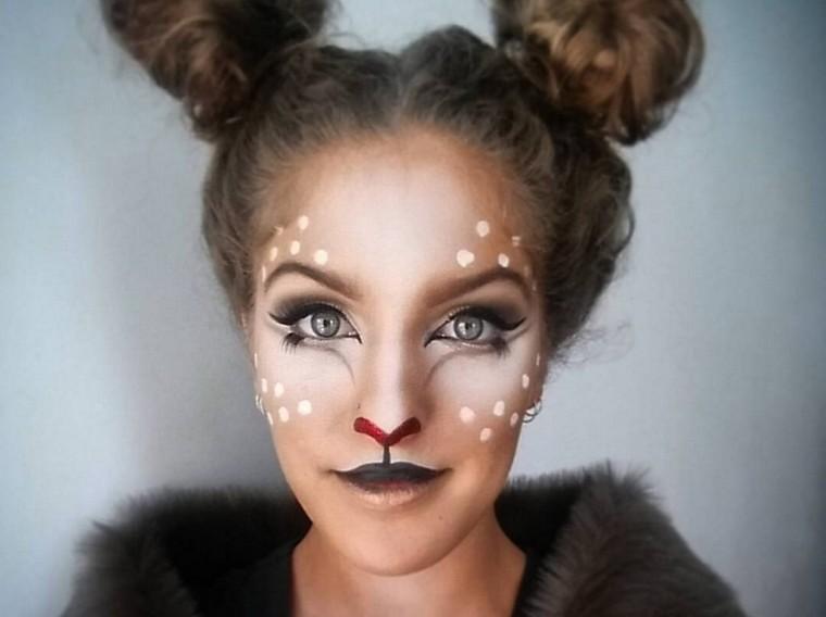 maquillage-halloween-animal-renne