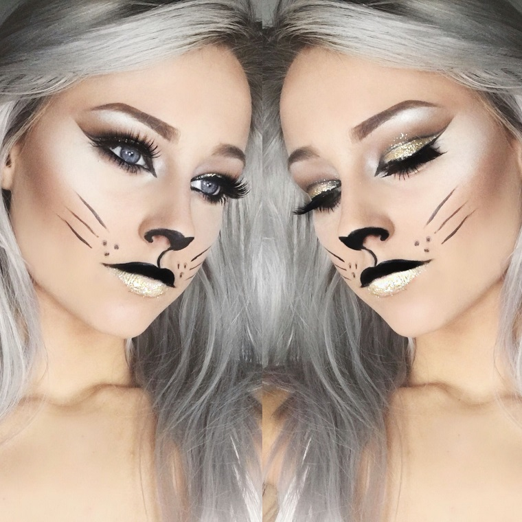 maquillage-chaton-halloween