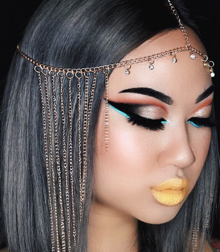 maquillage-halloween-cleopatra