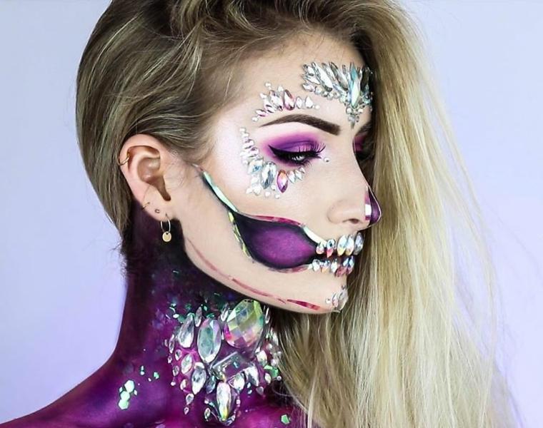 maquillage-halloween-style-glamour-peidras