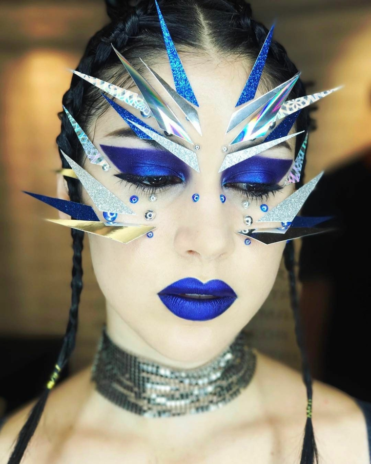 maquillage-halloween-glamour-reine-glace