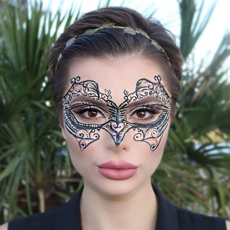 maquillage-yeux-masque-idées