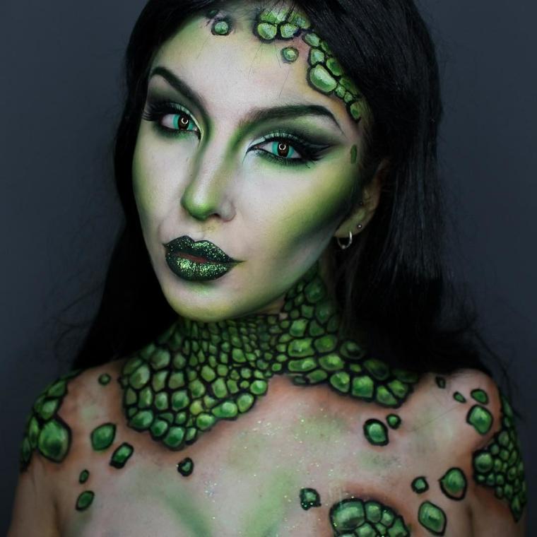 muejer-creature-ocean-maquillage-idées