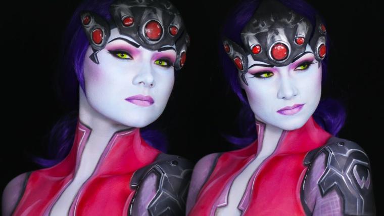 femme-héros-idées-maquillage-halloween