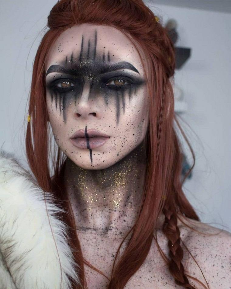 femme-maquillage-style-original-beauté