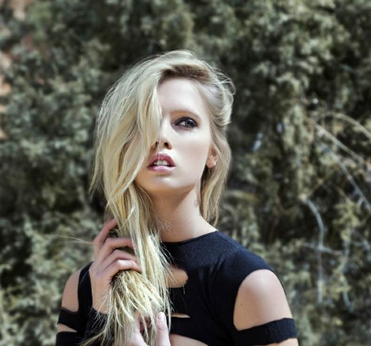 coupes de cheveux-femmes-2019-cheveux-blonde-style