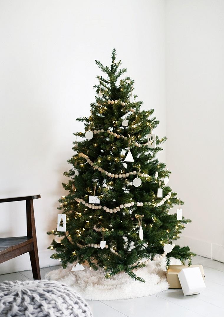 décoration-noel-simple-guirlande-bois