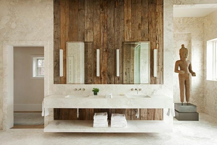 mur de salle de bain