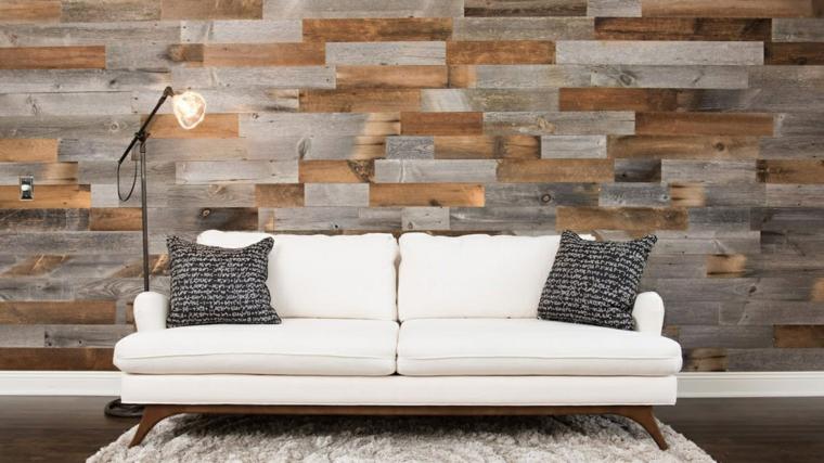 joli mur daccent en bois