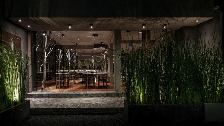 inspiré des restaurants dans la nature