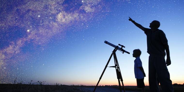 voir les étoiles