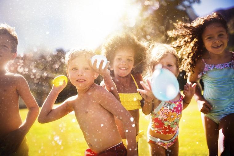 divertissement-pour-enfants-anniversaire-activités-eau
