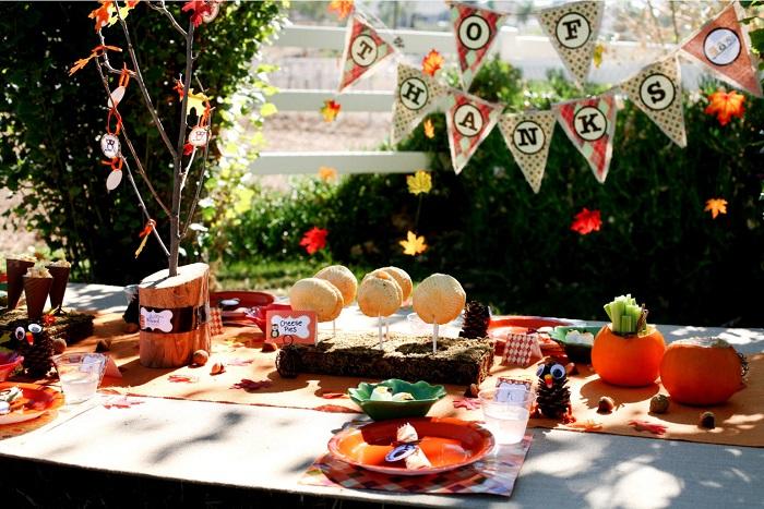patio magique décoré danniversaire