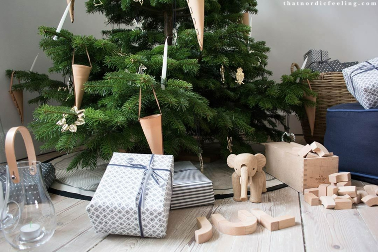 larbre de Noël-décoration-scandinave