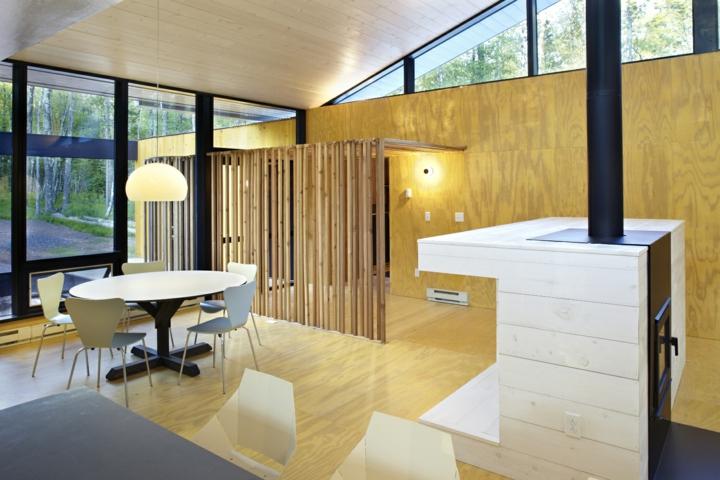 cheminée-latérale-salle à manger-fonctionnelle
