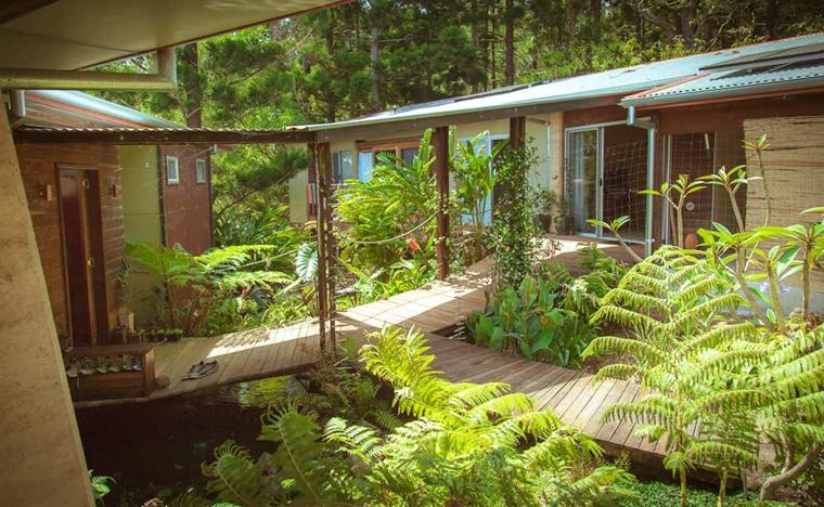 architecture durable maison avec jardin