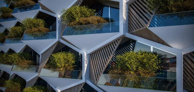 immeuble de construction durable