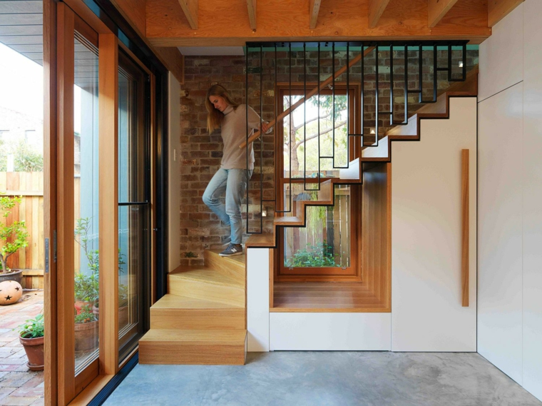 maison-a-Alexandria-escalier