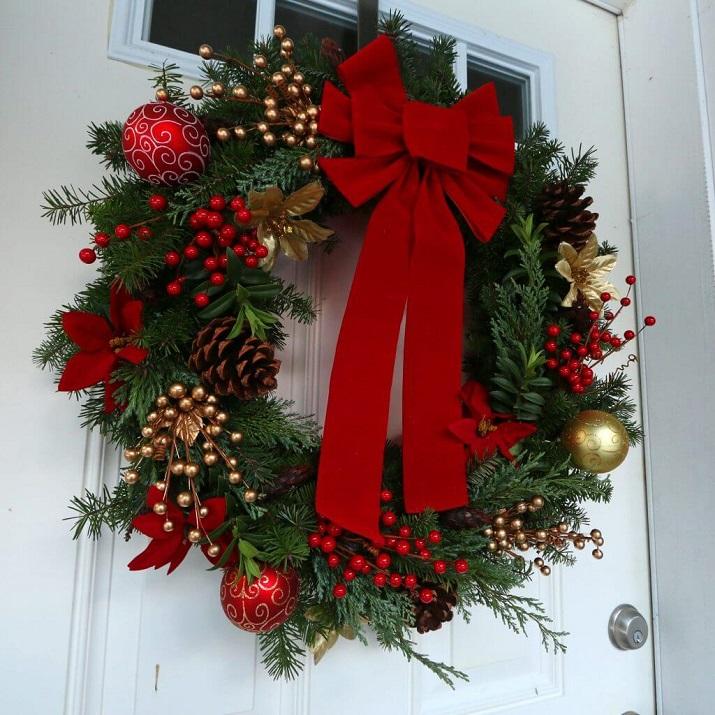 Arrangements de Noël de manière créative
