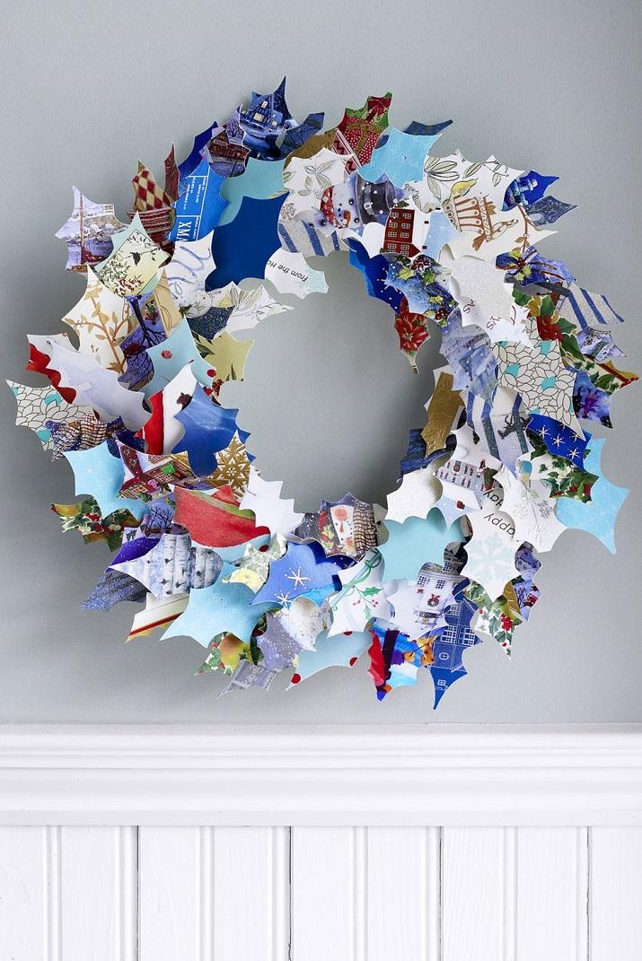Arrangements de Noël papier recyclé