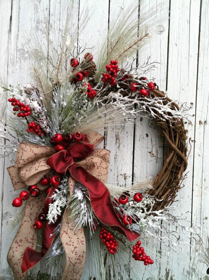 Arrangements de Noël pour les fenêtres