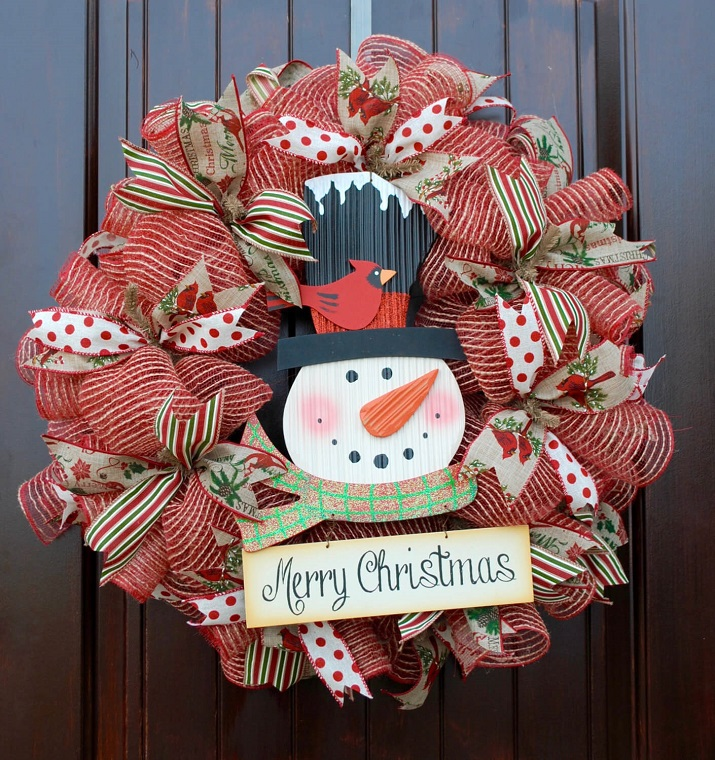 drôles-styles-décorations de Noël