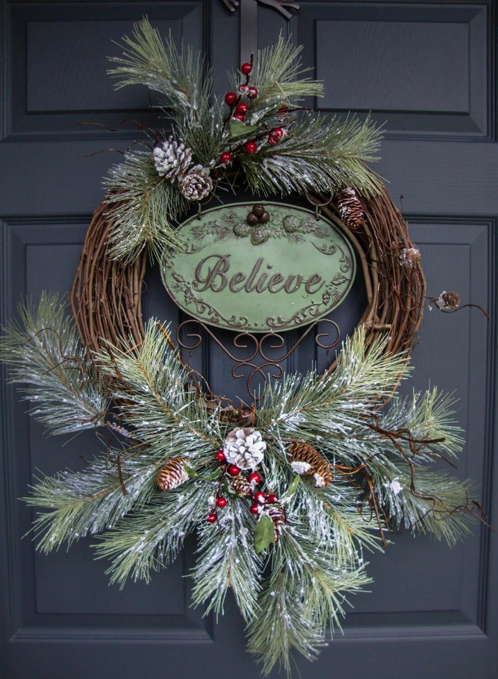 branches-pin-couronne-noel