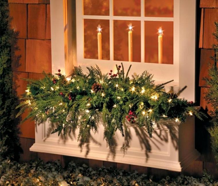 Décorations pour Noël en plein air