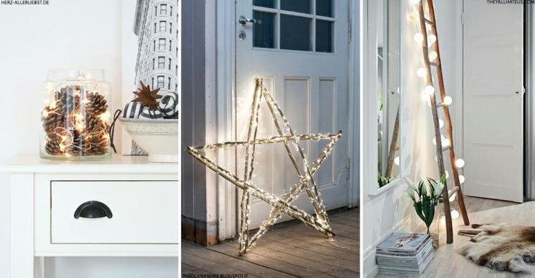 arrangements pour les lumières de Noël