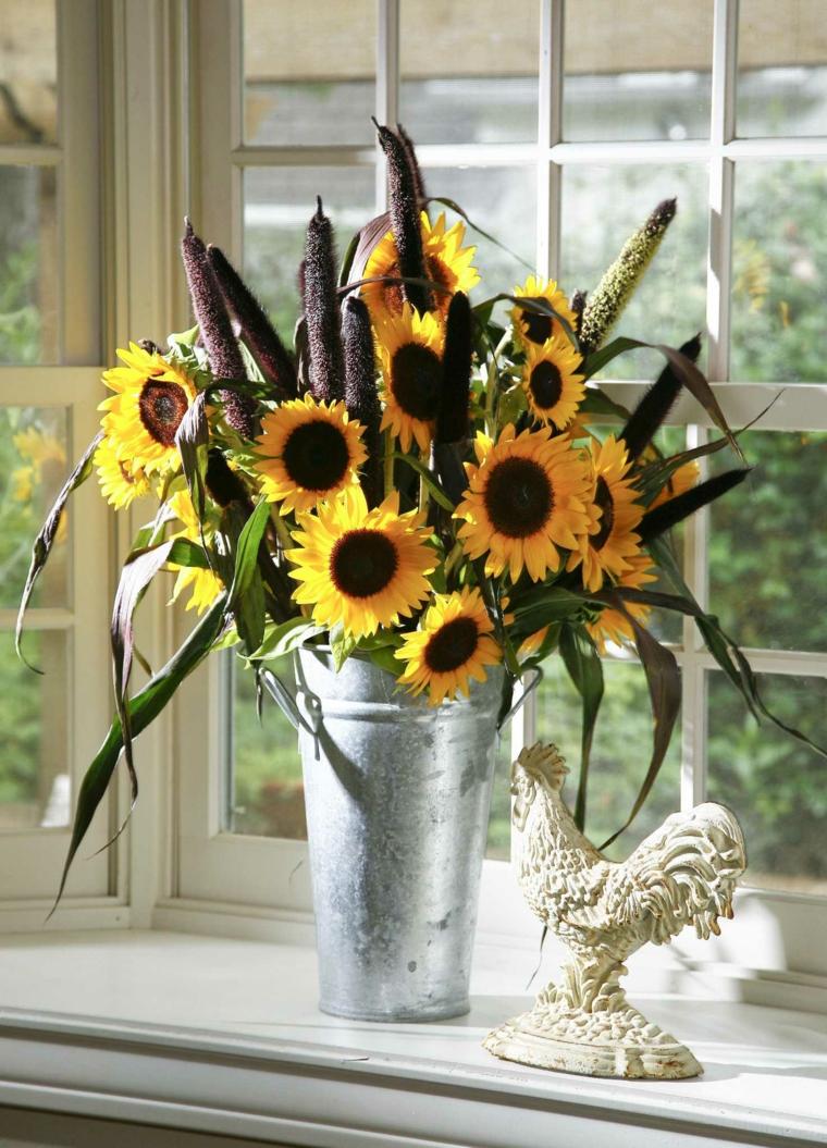 arrangements floraux-tournesols-options
