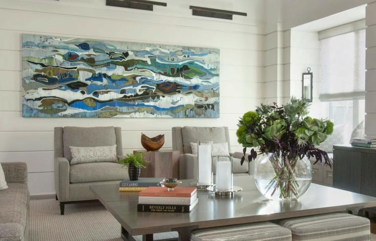 arrangements floraux-belle-table basse-idées