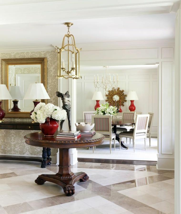 Arrangements-floraux-beaux-Tobi-Fairley-hall-Design-couloir