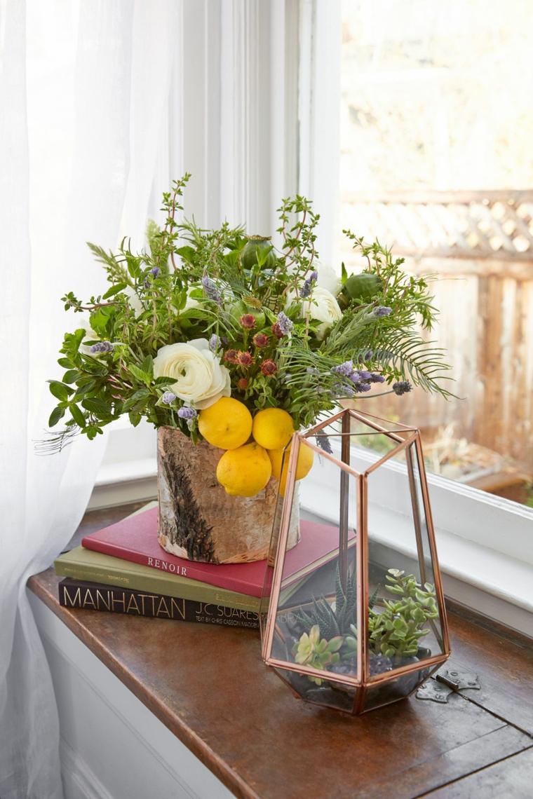 Arrangements-floral-herbes-citrons