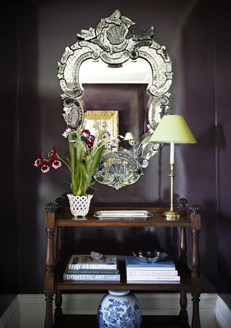 ashley-whittaker-miroir-décoration-fleurs