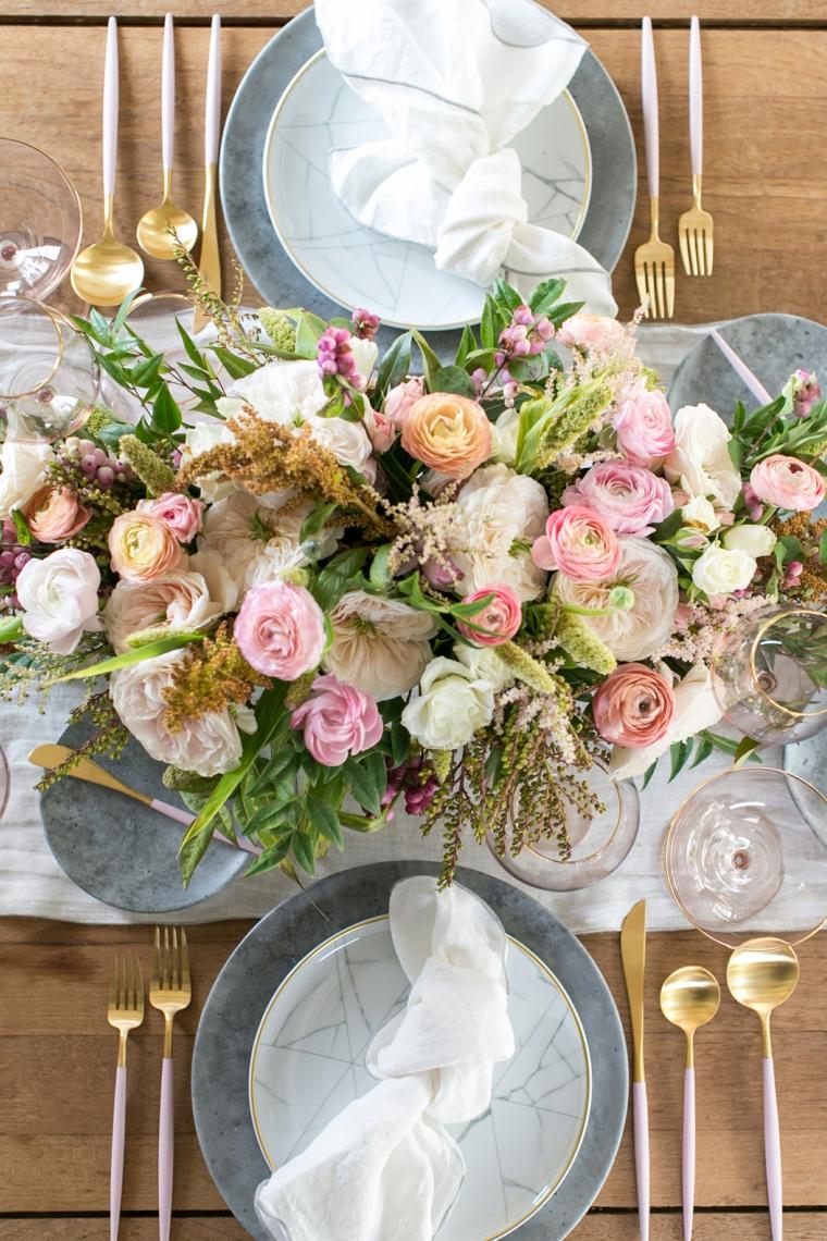 centre-table-belle-fleurs-diner-special