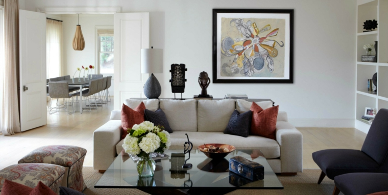idées-chambres-moderne-bouquets-fleurs