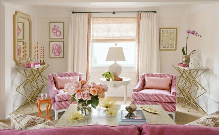 salon-meubles-fleurs-rose