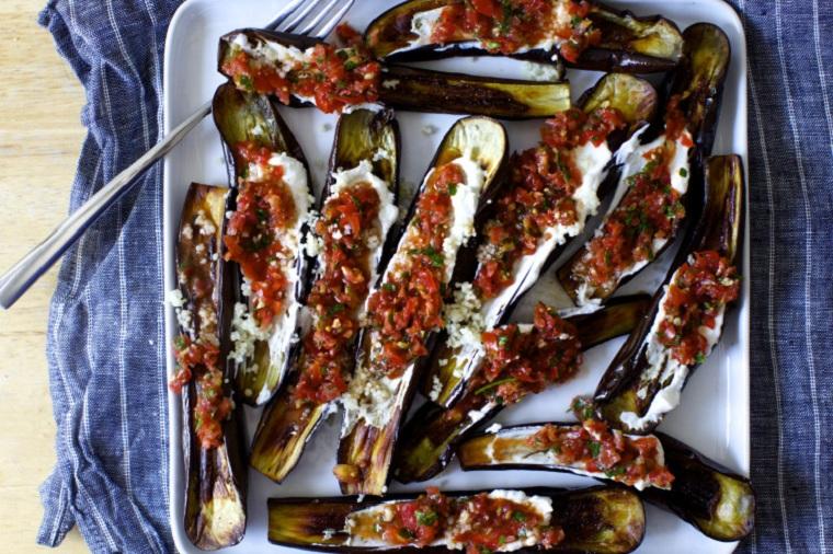 aubergines-yogourt-tomate-thon-recette-facile