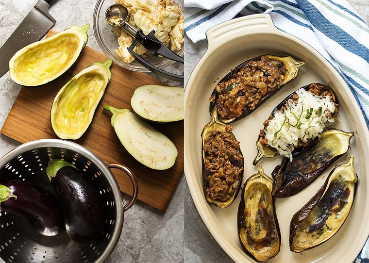 aubergines farcies-idées-recette-idées