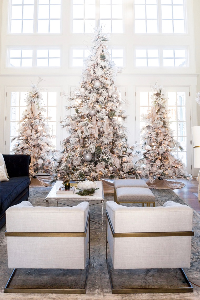 arbres-maison-décoration-blanc-style-options