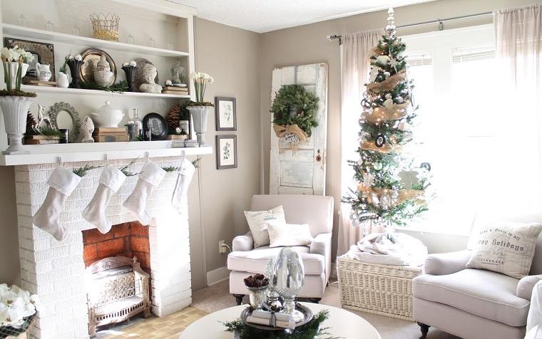 blanc noel-couleurs-neutre-decoration