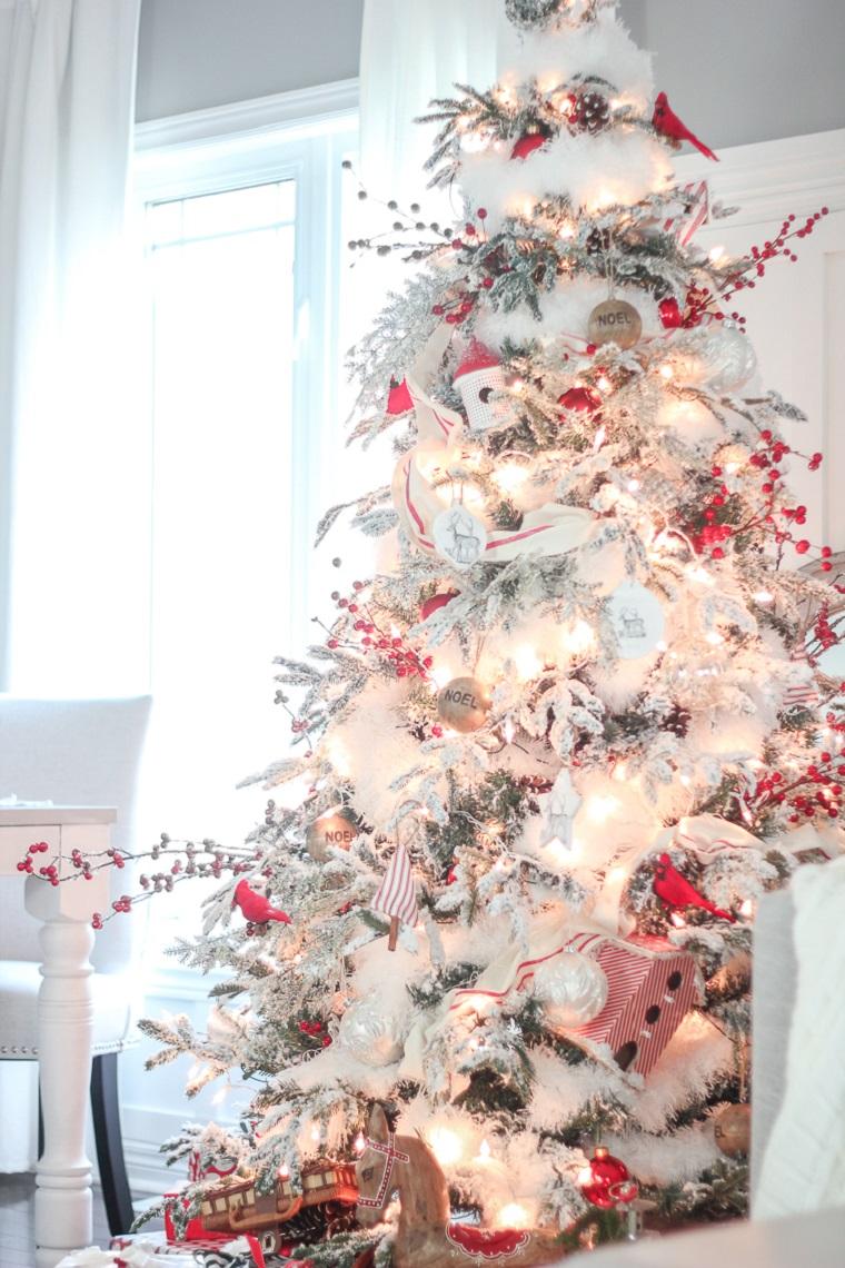 décoration-maison-blanc-rouge-options-style-mode